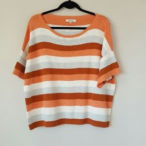 Madewell striped cotton sweater